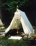 Historic Tipis and Camp Gear